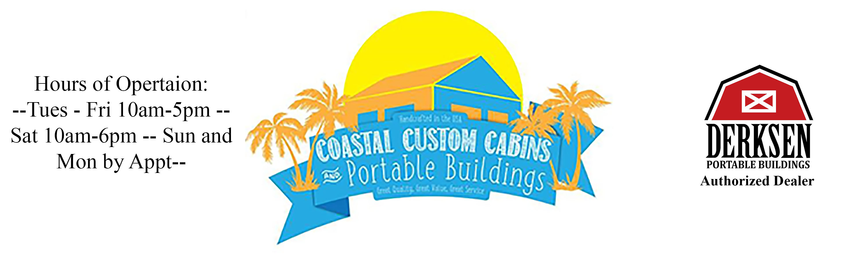 Coastal Custom Cabins and Portable Buildings